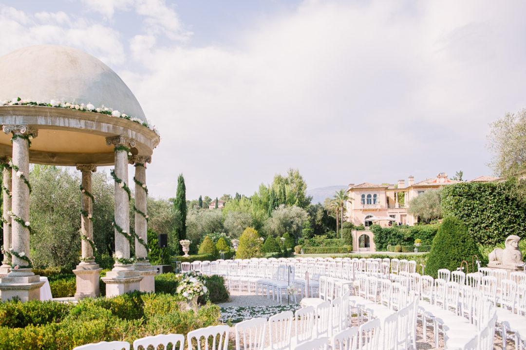 photographe de mariage au Château Diter à Grasse