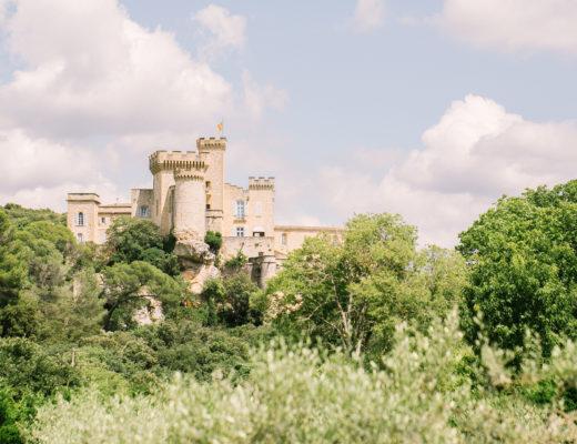 photographe de mariage au Château de la Barben