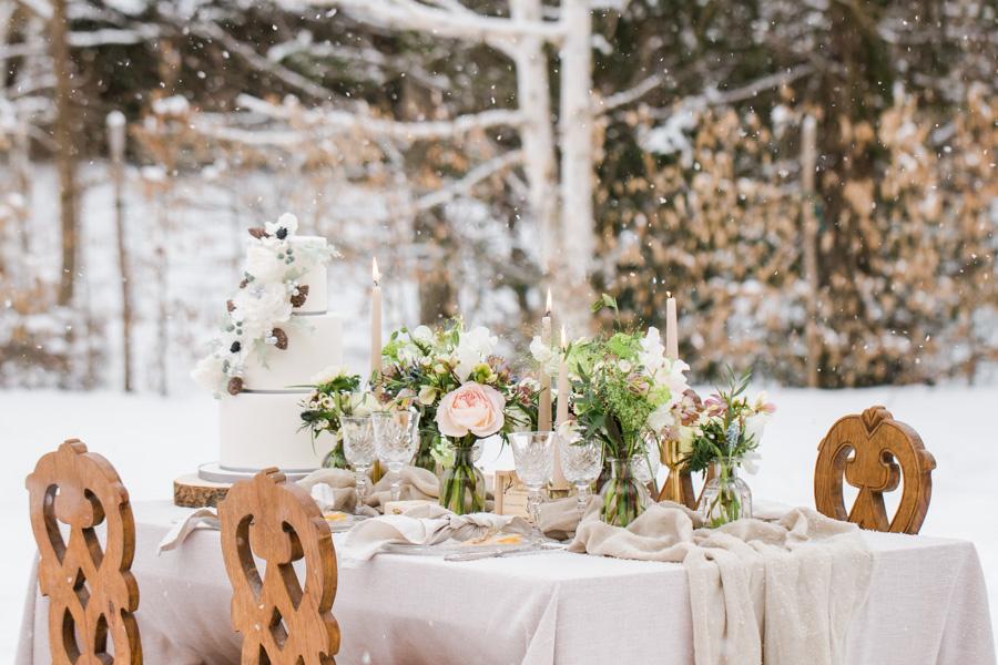 Photographe de mariage à la montagne