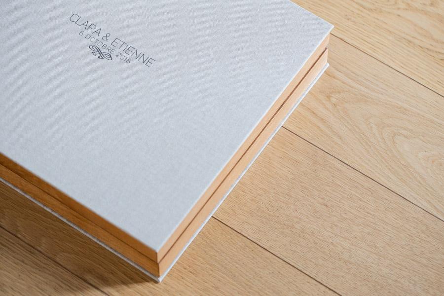 Livre album photo de mariage Aix-en-Provence